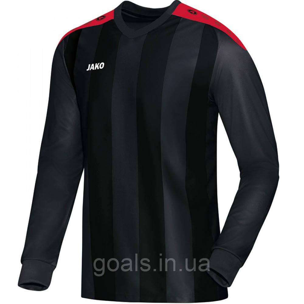 Футбольная футболка с длинным рукавом Jersey Porto L/S (black/red)