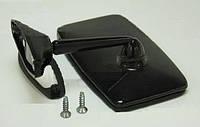 Зеркало боковое ВАЗ 2101, 2102, 2103, 2106 Завод Ароки черное на ножке (1шт) вакуум упаковка, фото 1