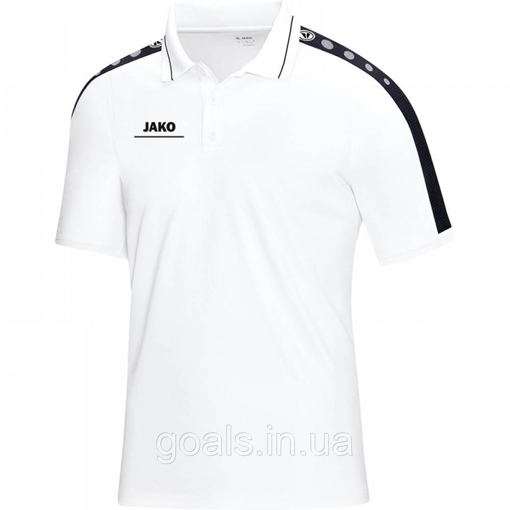 Поло Striker (white/black)