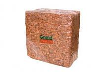 Кокосовый блок GrondMeester UNI100SS 5кг по штучно в упаковке 30х30см