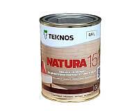 Лак акриловый TEKNOS NATURA 15 мебельный полуматовый 0,9л