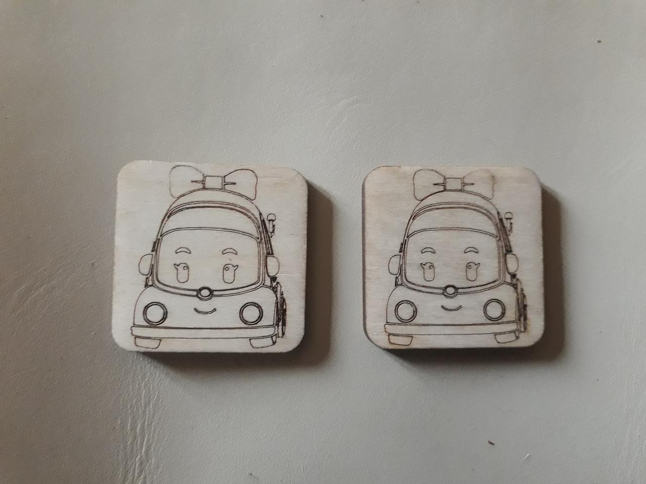 """Игра """"Мемори"""" (Memory) набор из 1-й пары Машинки-3"""