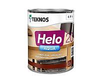 Лак полиуретановый TEKNOS HELO AQUA 20 для паркета и мебели полуматовый 0,9л