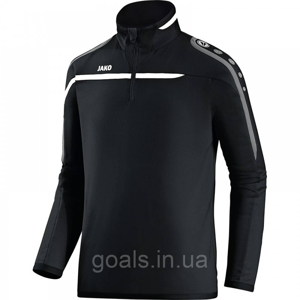Zip top Performance (black/white/grey)