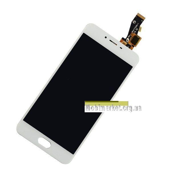 Модуль (сенсор + дисплей) Meizu M3s (Y685Q), M3s Mini, original білий