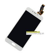 Модуль (сенсор+дисплей) Meizu M3s (Y685Q), M3s Mini білий, фото 3