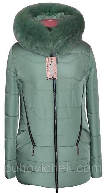 Модная курточка женская зимняя недорого