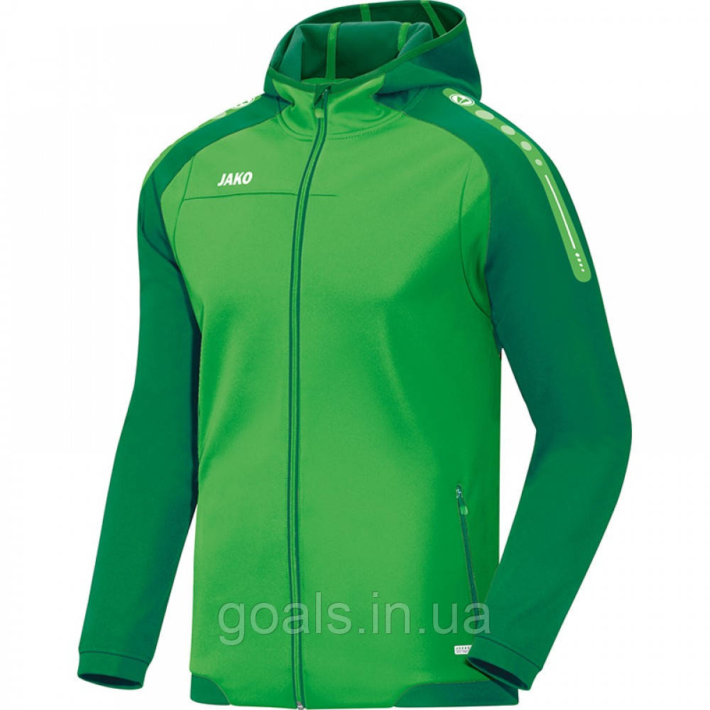 Куртка с капюшоном Champ (soft green/sport green)