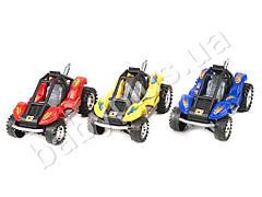 Машинка инер-я, 3 цвета, в кульке 0888