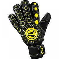 Перчатки ГК Medi (black/neon yellow)