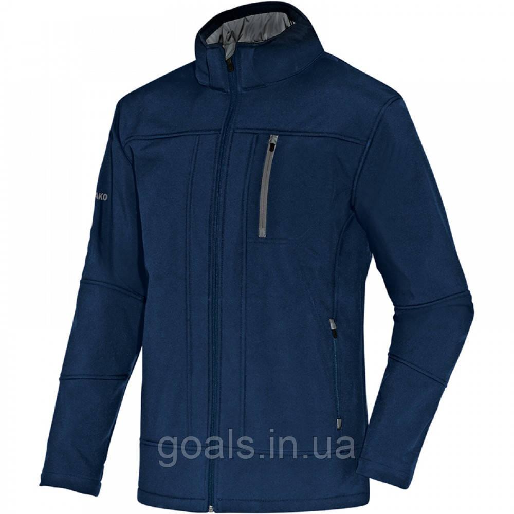 Куртка-ветровка Softshell jacket Team (navy/grey)
