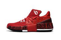 Баскетбольные кроссовки Adidas D Lillard 3  red