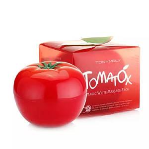 Томатная маска Tony Moly Tomatox Magic White Massage Pack, 80 мл