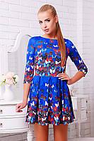 платье GLEM Бабочки платье Мия-1 д/р