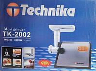 ЭЛЕКТРО  МЯСОРУБКА TECHNIKA TK-2002 3000W