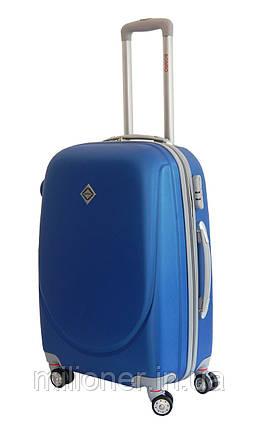 Чемодан Bonro Smile с двойными колесами (небольшой) синий, фото 2