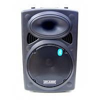Мощная акустическая система колонка чемодан с Bluetooth микрофоном  Atlanfa Q12