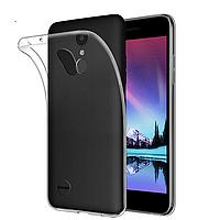Ультратонкий 0,3 мм чехол для LG K4 (2017) прозрачный