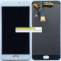 Модуль (сенсор + дисплей LCD) Meizu M3 note M681H/M681Q/M681C білий