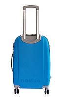Чемодан Bonro Smile с двойными колесами (большой) голубой, фото 2