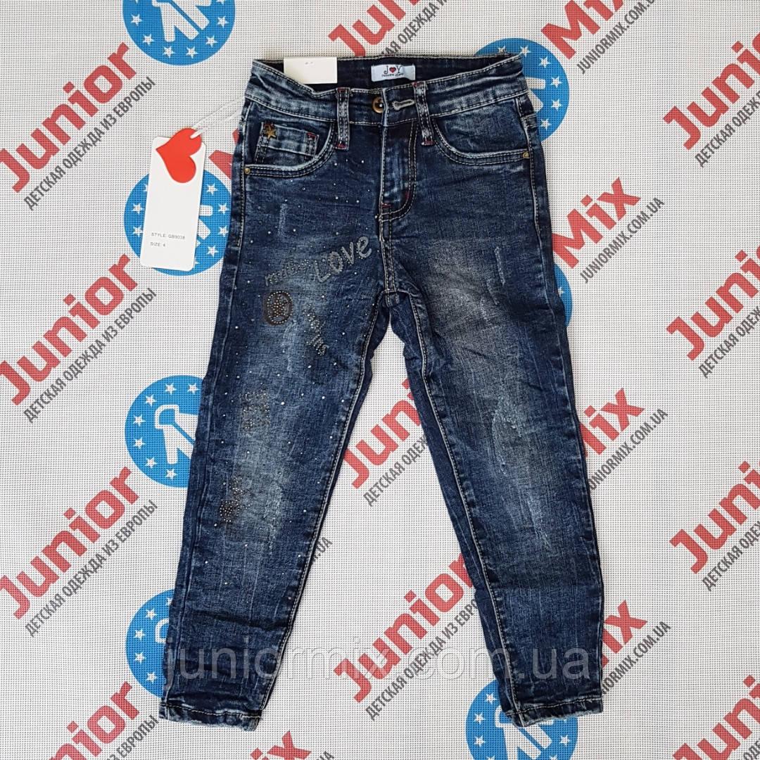53493e6c94c Детские модные джинсы для девочек оптом JOY ИТАЛИЯ - Оптовый интернет  магазин JuniorMix в Хмельницком