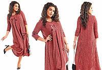 Платье лик598 50, красный