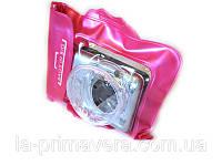 Аквабокс - водонепроницаемый чехол для фотоаппарата Розовый, фото 1
