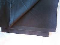 """Ткань костюмно-джинсовая """"вельвет""""  меланж св.серо-черный плотный"""