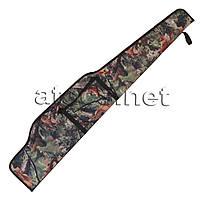 Чохол для гвинтівки 125 см, лісовий камуфляж
