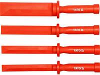Скребки пластмассовые YATO, l= 265 мм, кпл. 4 шт.  [6/36]
