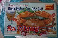 Чипсы крабовые, 200 г, Вьетнам