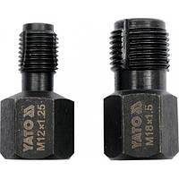 Набор инструмента для ремонта резьбы лямбда-зонда YATO, 2ед.
