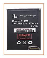 Аккумулятор Fly IQ456 (BL3808) 2000mAh Original