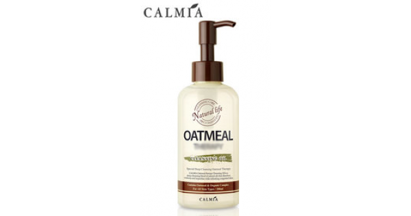 Гидрофильное масло CALMIA Oatmeal Therapy Cleansing Oil, 200 мл, фото 2