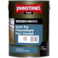 Quick Dry Floor Varnish Gloss Лак д/підлоги водорозчин. глянц., 5л