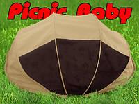 Складная сумка-кровать с матрасом и подушкой «Picnic Baby» Бежевая