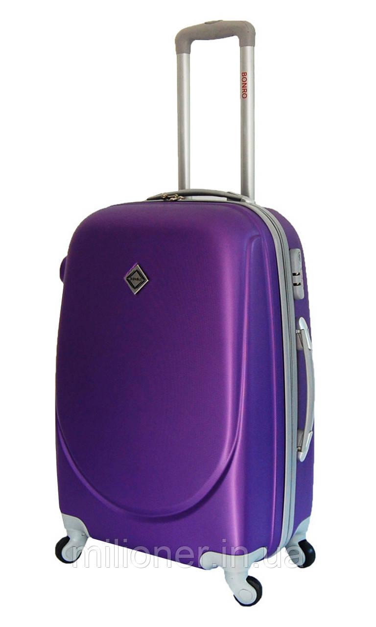 Валіза Bonro Smile (великий) фіолетовий