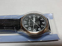 "Кварцевые часы ""Спутник 267"" на ремешках с датой."