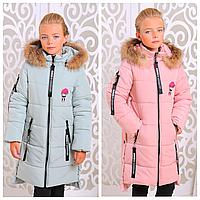 Зимняя куртка для девочки | Пуховик зима детский