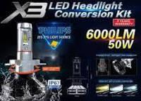 Лампы LED X3 6000lm50w