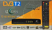 Цифровой эфирный тюнер UCLAN T2 HD Internet Plus