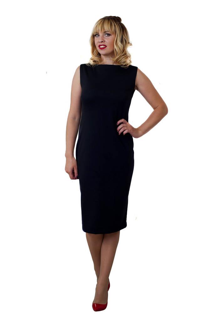 Платье Линда 0201_2 Чёрное