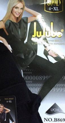 Жіночі лосини «Jujube» XL-4XL 800 Den осінь весна
