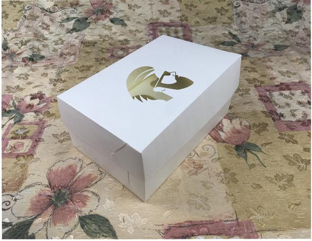 Коробка с заказным окном