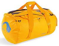 Прочная сумка Tatonka Barrel L lemon, желтая, на 85 л, материал - Tarpaulin 1000 TAT 1953.039