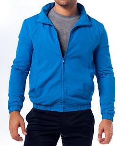 Мужская ветровка синяя