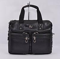 Кожаный мужской портфель, сумка для документов Giorgio Armani 8919-3