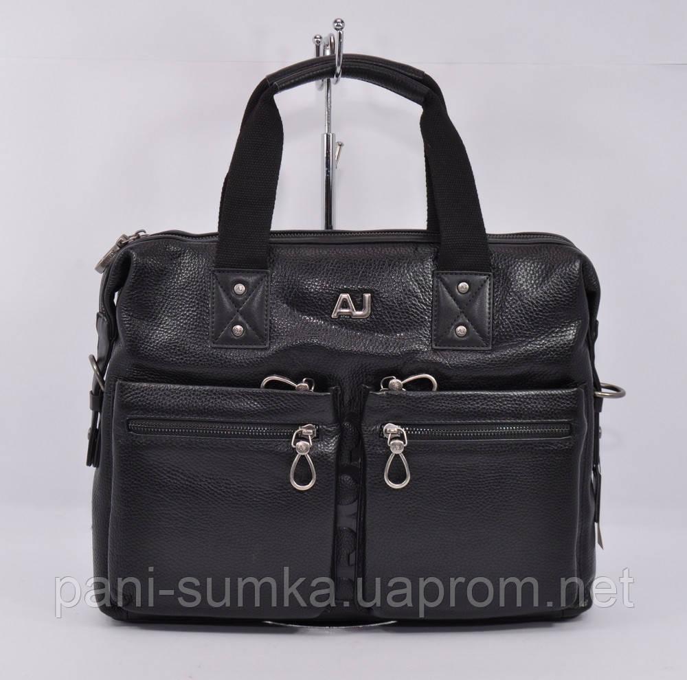b35515443867 Кожаный мужской портфель, сумка для документов Giorgio Armani 8919-3, фото 1