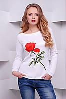 кофта GLEM Роза-белый кофта Моника д/р