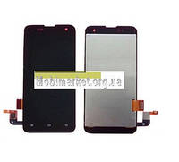 Модуль (сенсор + дисплей LCD) Xiaomi Mi2 / Mi2S чорний